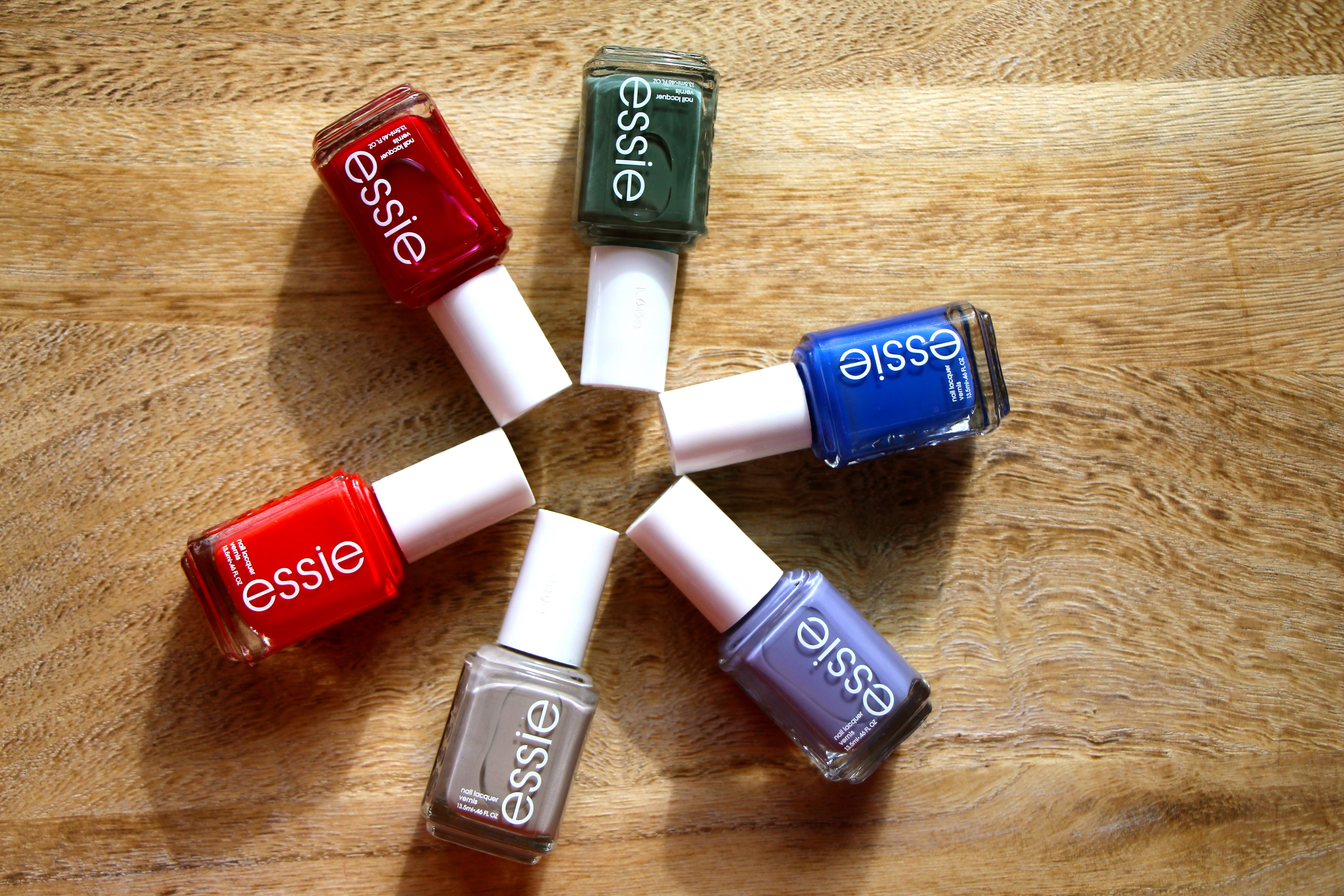 Esmaltes Essie colección otoño versus mi version de otoño. – Mi ...