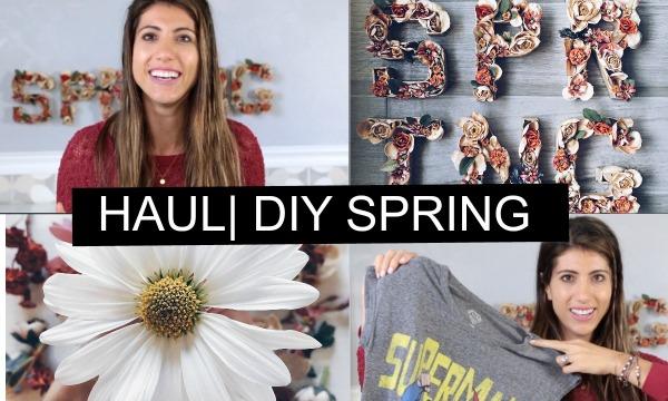 haul diy spring